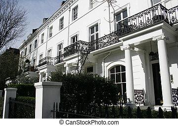 Edwardian architecture - Beautiful row of Edwardian houses...