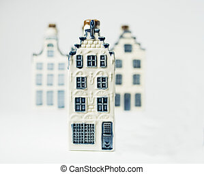 my house - Dutch china house standing out