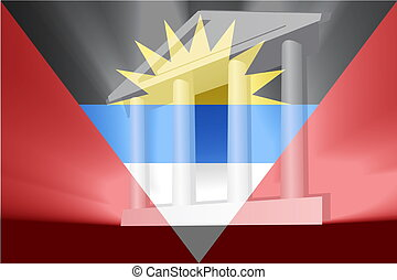 Flag of Antigua government