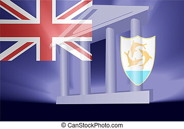 Flag of Anguilla government - Flag of Anguilla , national...