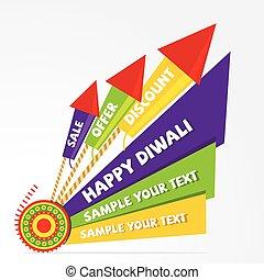 diwali offer banner design - creative diwali offer or...