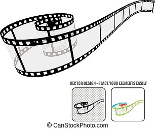 Vector film roll