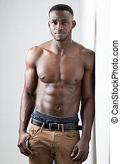 Dark Skinned Male Fitness - Men's Fitness, dark skinned...