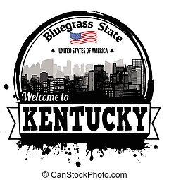 Kentucky stamp