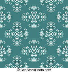 Seamless fractal pattern simulating frost on window