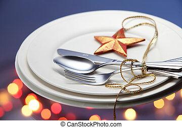 christmas dinner - concept of the christmas dinner
