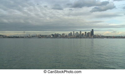 Seattle skyline - wide shot