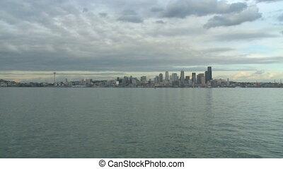 Seattle skyline - wide shot