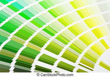 amostra,  ral, cores, catálogo