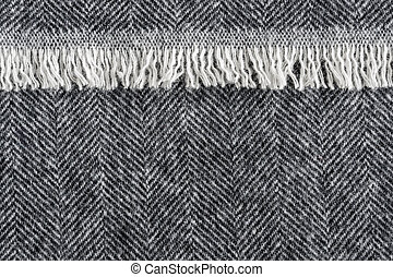 Herringbone tweed background - Herringbone wool tweed fabric...