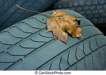tyres - old car tyres