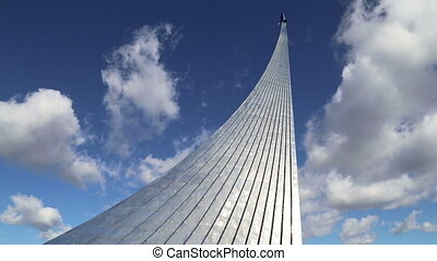 Space Monument, Moscow, Russia - Conquerors of Space...