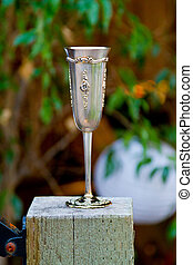 Wedding Champagne Flute - Champagne flute at a wedding...