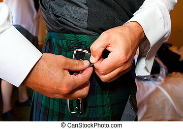 Scottish Kilt Wedding Attire - Traditional Scottish wedding...