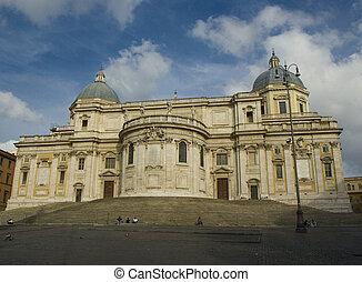 Church Santa Maria Maggiore in Rome, Italy