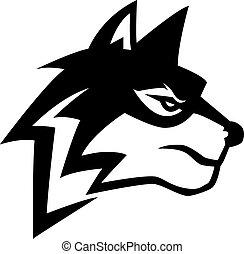 Wolf illustration design