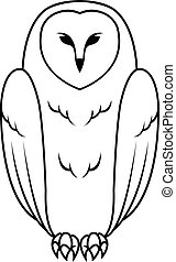 Owl Illustration design