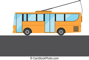 Yellow bus picture
