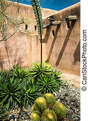 Desert Designs - Sonoran desert landscape beside a...