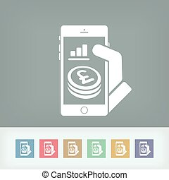 Financial application on smartphone - Sterling