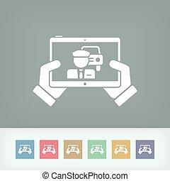 Carpooling application concept