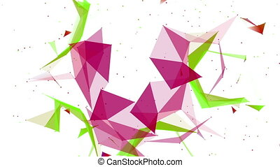 Abstract Structural Fragments 6 - Abstract background with...