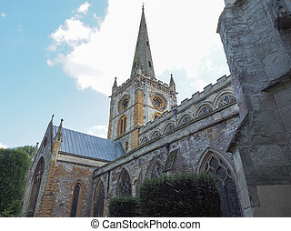 Holy Trinity church in Stratford upon Avon, UK