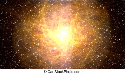 starfield in universe and super nova