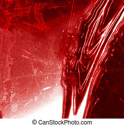 blood dripping down on a red background