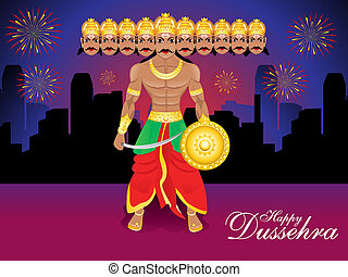 happy dussehra background ravan - happy dussehra background...
