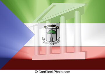 Flag of Equatorial Guinea government - Flag of Equatorial...