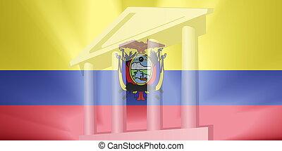 Flag of Ecuador government - Flag of Ecuador, national...
