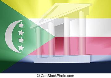 Flag of Comoros government - Flag of Comoros , national...