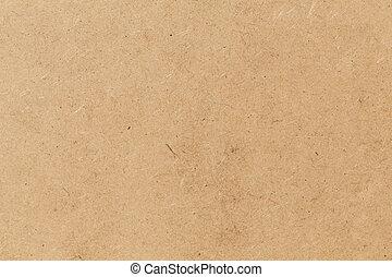 Pressed beige chipboard texture Wooden background