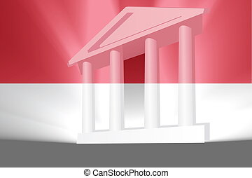 Flag of Indonesia government - Flag of Indonesia, national...