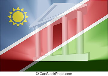 Flag of Namibia government - Flag of Namibia, national...