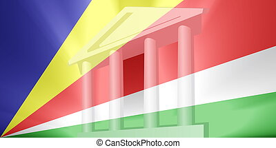 Flag of Seychelles government - Flag of Seychelles, national...