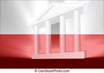 Flag of Poland government - Flag of Poland, national country...