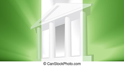 Flag of Nigeria government - Flag of Nigeria, national...
