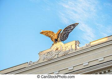 aeronautics Eagle - The symbol of aeronautics military...