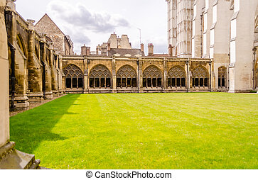 Cloister of the Westminster Abbey, London