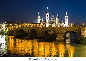 Our Lady of the Pillar Basilica Zaragoza - Our Lady of the...