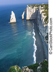 Etretat cliff France
