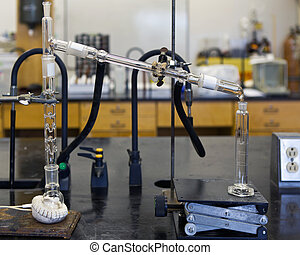 Chemical Distillation - Ethanol chemical distillation with...