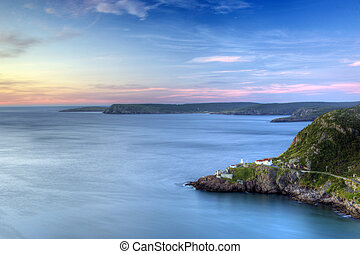 St Johns, Newfoundland, Sunrise - Sunrise looking over Fort...