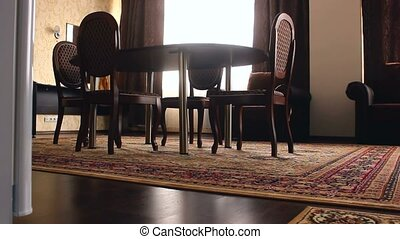 Interior room chair with chairs and carpets beautiful luxury...