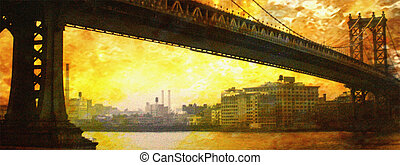 NYC Bridge Painting