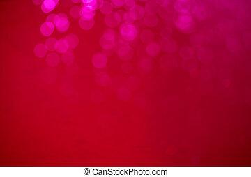 Lense flare bokeh red defocused