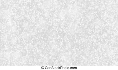 Falling snow flakes - Christmas winter background loopalble...