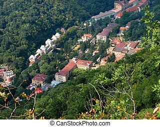View of Herculane Bath, Banat, Romania, Eastern Europe